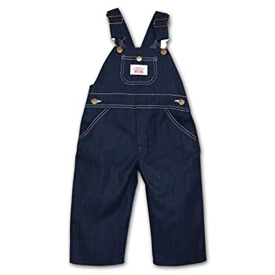 Round House Little Boys Bib Overall - Made in USA