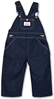 product image for Round House Little Boys Bib Overall - Made in USA (Blue 7)