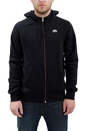 Nike Sb Icon Fz Hoodie Sweat Shirt Homme Xxl Negroblanco Black