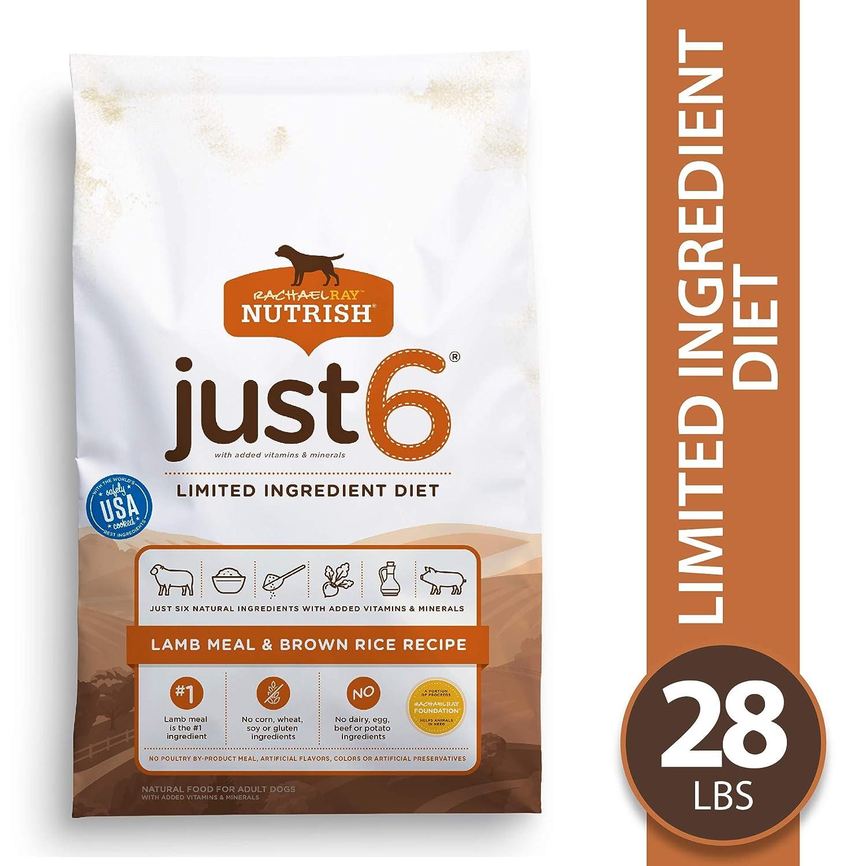 1.Rachel Ray Nutrish Just 6 Limited Ingredient Formula