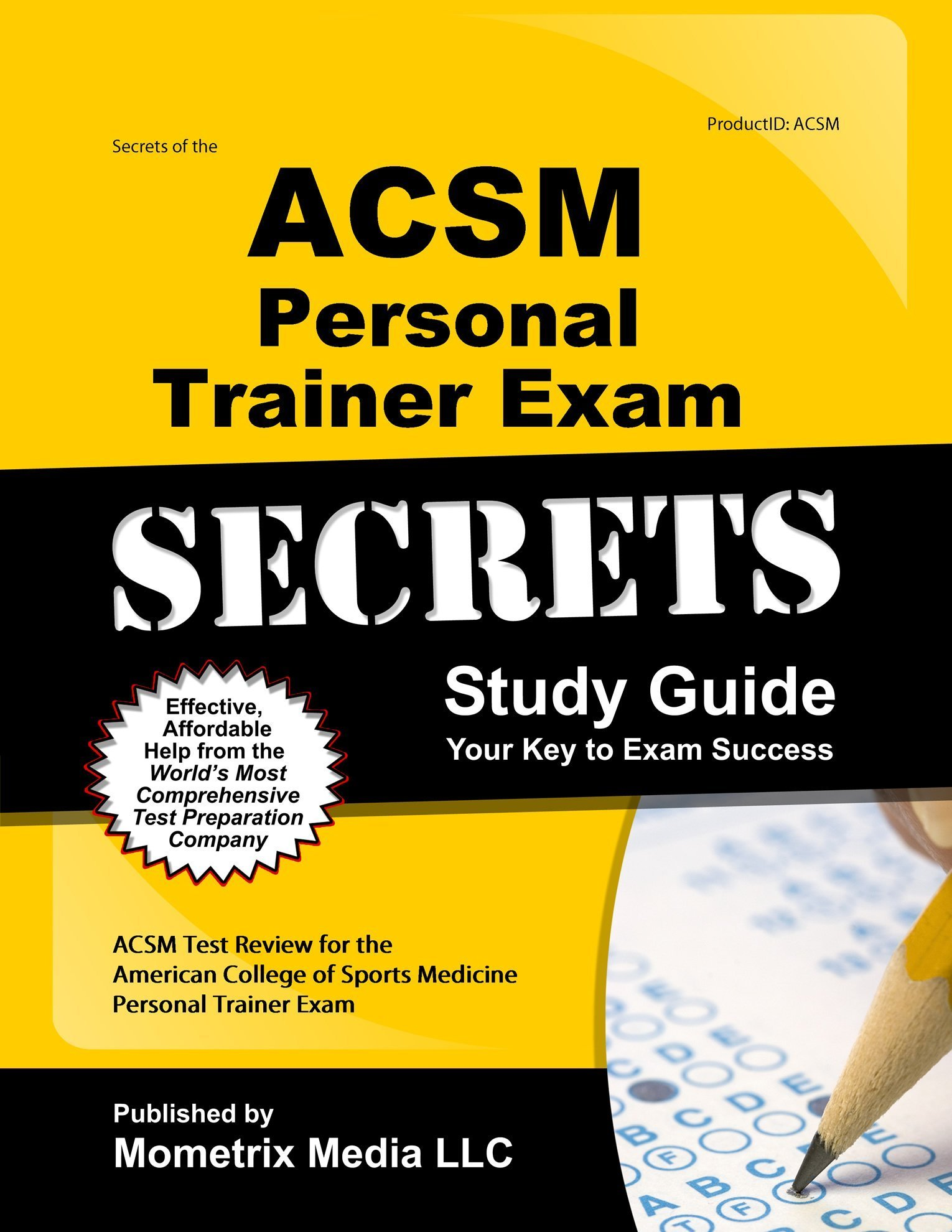 Secrets Of The Acsm Personal Trainer Exam Study Guide Acsm Test