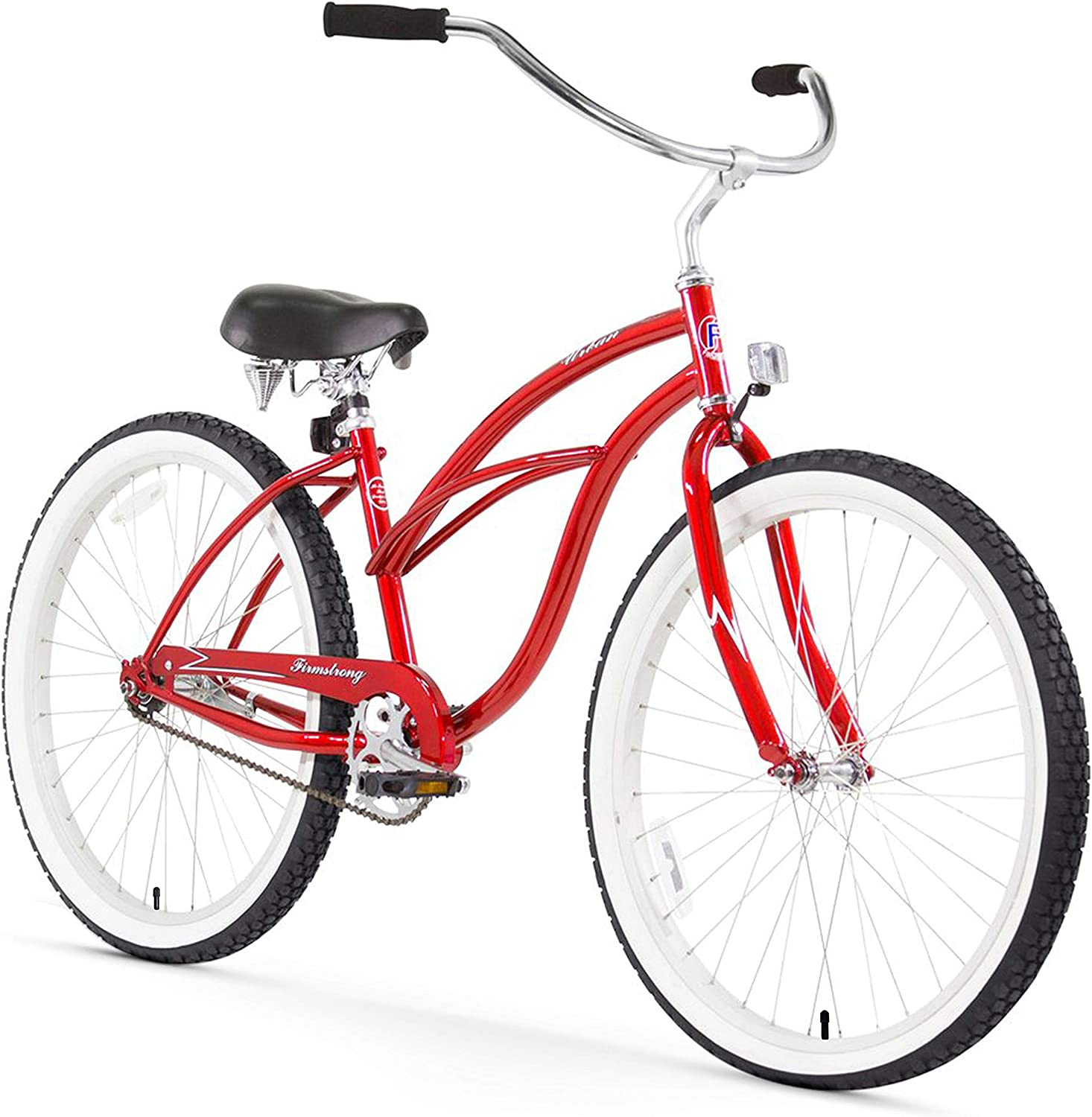 Firmstrong Urban Lady Single Speed Beach Cruiser - 300 lbs