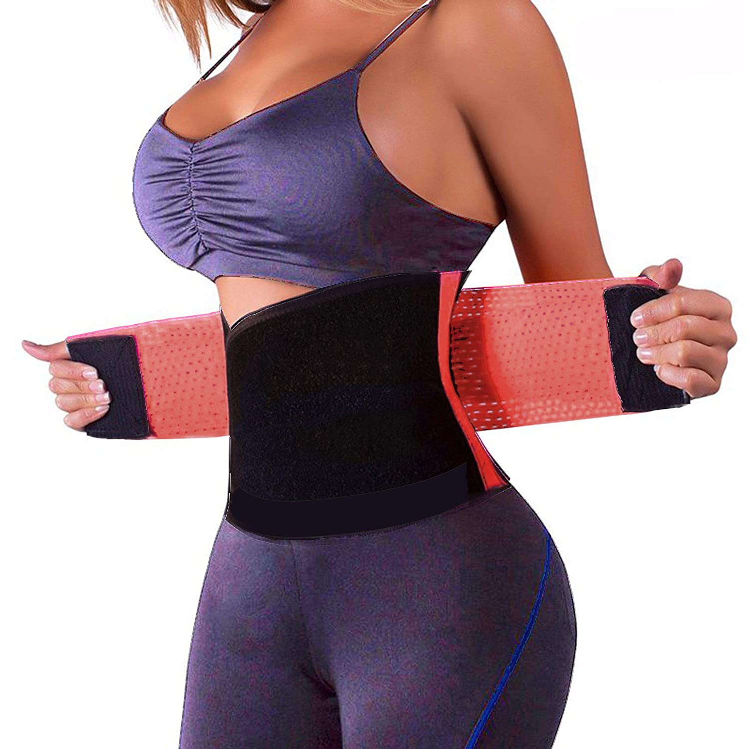 SchwabMarken Sport Power Belt Waist trainer, 4 fitness belt E-Flyup
