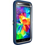 Otterbox [Defender Series] Samsung Galaxy S5 Case - Frustration-Free Packaging Protective Case for Galaxy S5 - Blueprint (Slate Grey/Deep Water)
