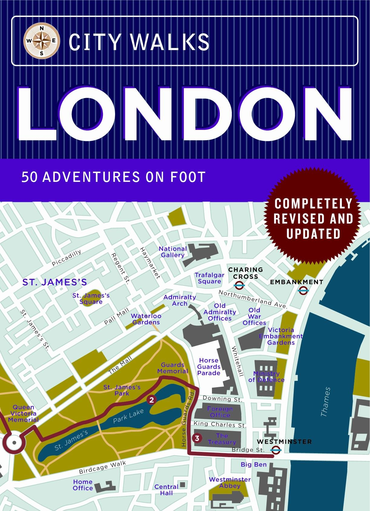 City Walks Deck: London Revised Edition: 50 Adventures on Foot ... on