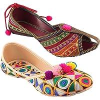 Shree Rajasthani Jaipuri Partywear Ethnic Womens Girls Ladies Belly Combo