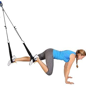 Sling Trainer sind für ganz unterschiedliche Übungen geeignet.