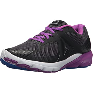 buy Reebok Women's OSR Harmony Road Sneaker Black/Coal/Vicious Violet 9 M US