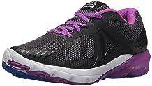 Reebok Women's OSR Harmony Road Sneaker Black/Coal/Vicious Violet 9 M US