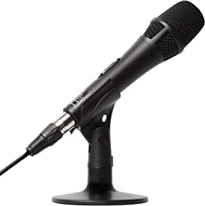Marantz Pro M4U – USB Condenser Microphone With Audio Interface, Mic Cable and Desk Stand – For Podcast Projects, Streaming and Recording Instruments