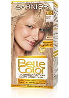 garnier belle color coloration permanente blond 1013 blond perl naturel - Belle Color Blond Cendr