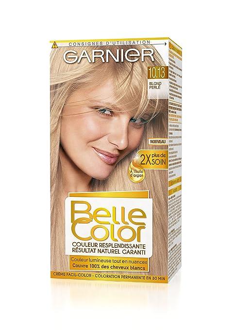 Couleur cheveux blond garnier