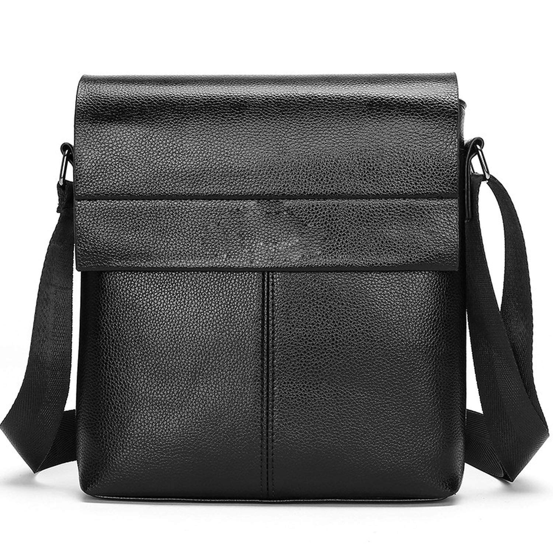 Collection Fashion Men Bags Male Leather Messenger Bags Man Travel Business Crossbody Shoulder Bag Mens Handbag,Brown