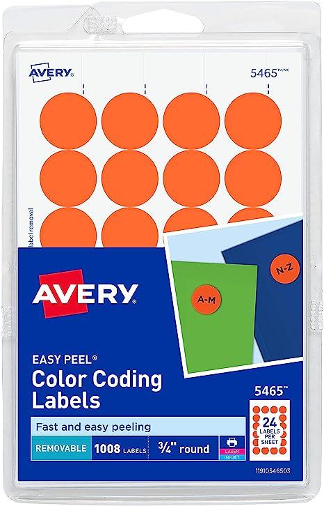 Amazon.com: Avery 5465 - Etiquetas autoadhesivas para ...