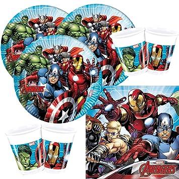 Marvel Avengers Geschirr//Luftballons// Iron Man 3 Geburtstagsparty Artikel