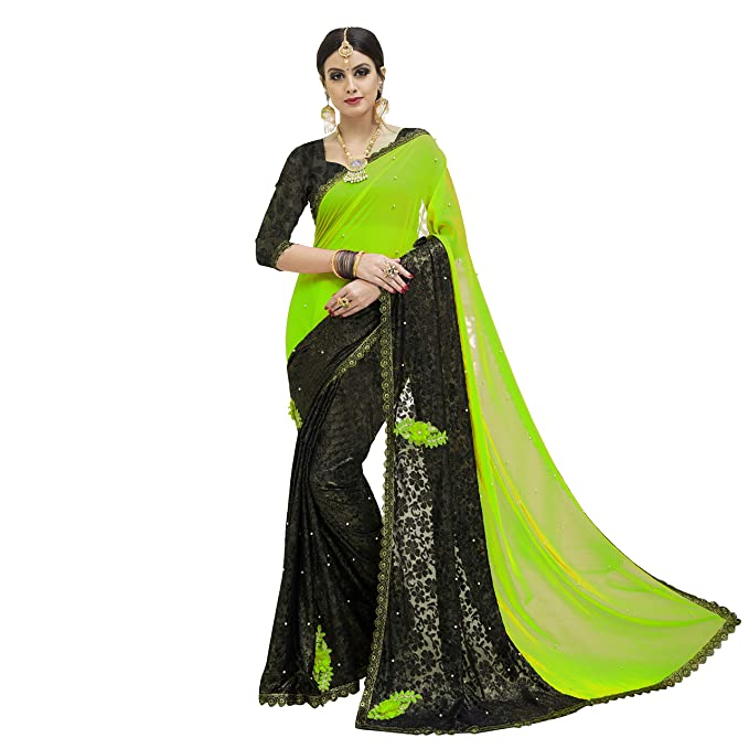 419d547747805 Being Banarasi Women s Light Green Silk Saree with Blouse Piece(Free Size)   Amazon.in  Clothing   Accessories
