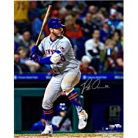 """Pete Alonso New York Mets Autographed 16"""" x 20"""" Hitting Photograph - Autographed MLB Photos photo"""