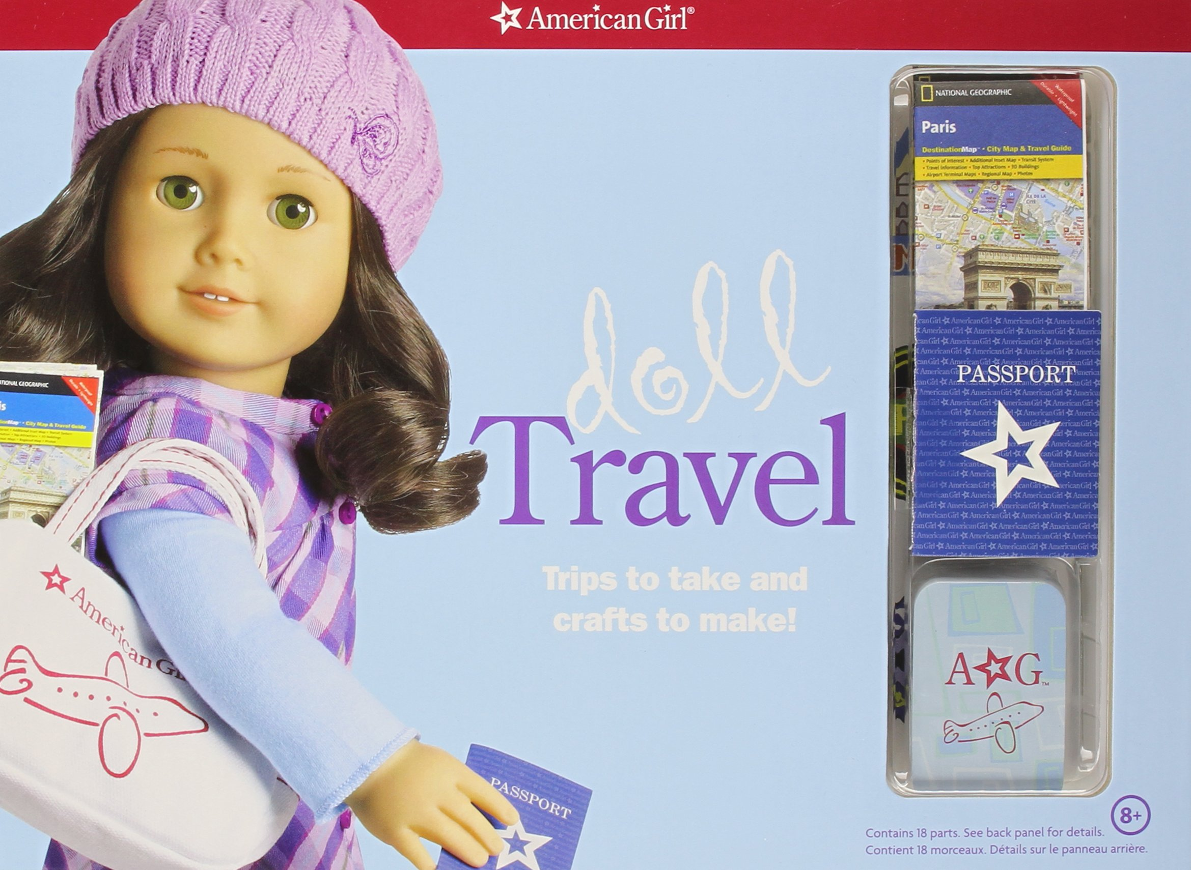 Download Doll Travel: Trips to take and crafts to make (American Girl) pdf epub