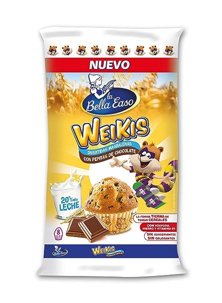 La Bella Easo Weikis Magdalenas Chocolate - 232 g