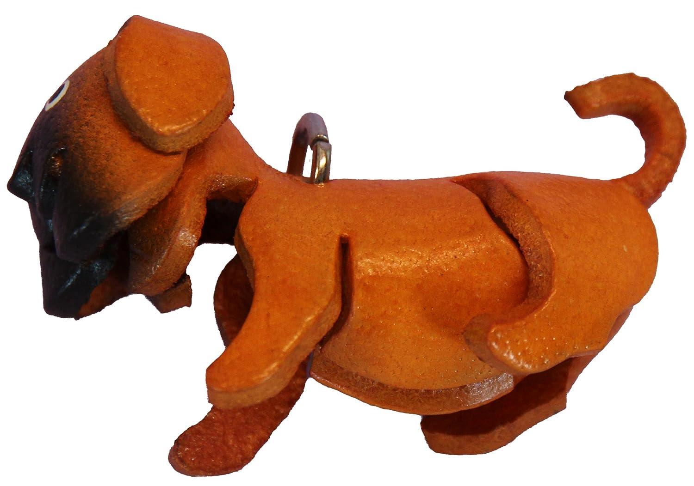 Amazon.com: Bolso color naranja piel perro carlino – Cierre ...