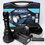 Olight M2X Javelot M2X-UT 1020 Lumens CREE XM-L2 LED Flashlight 810m Long Throw Distance Search Light with Two LegionArms Rechargeable 18650 Batteries and Charger Kit