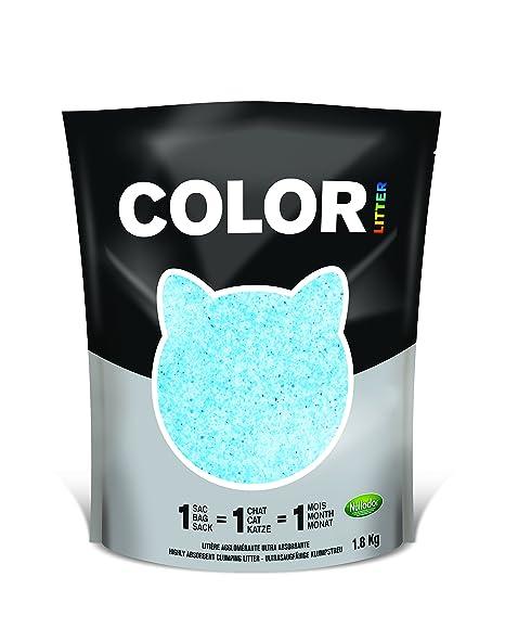 Nullodor Arena para gatos color azul, 1,8 kg