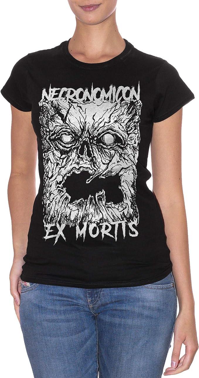Famosi Choose ur Color Felpa Girocollo Ecronomicon Ex Mortis Book Lovecraft Raimi Evil Dead Horror Movie
