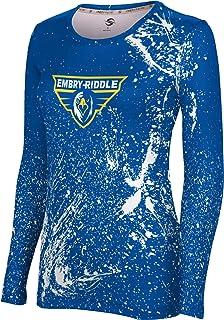 Apparel Men/'s Embry-Riddle Aeronautical University Prescott Splatter Shirt