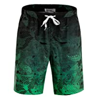 APTRO Men's Swim Shorts Quick Dry Swim Trunks Bathing Suits with No Mesh Lining