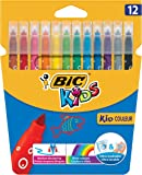 BIC Kids Kid Couleur Colouring Pens 12 Pack