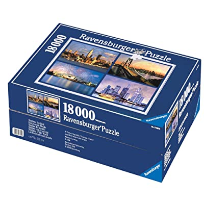 Ravensburger Skylines of The World - 18000 Piece Puzzle: Toys & Games