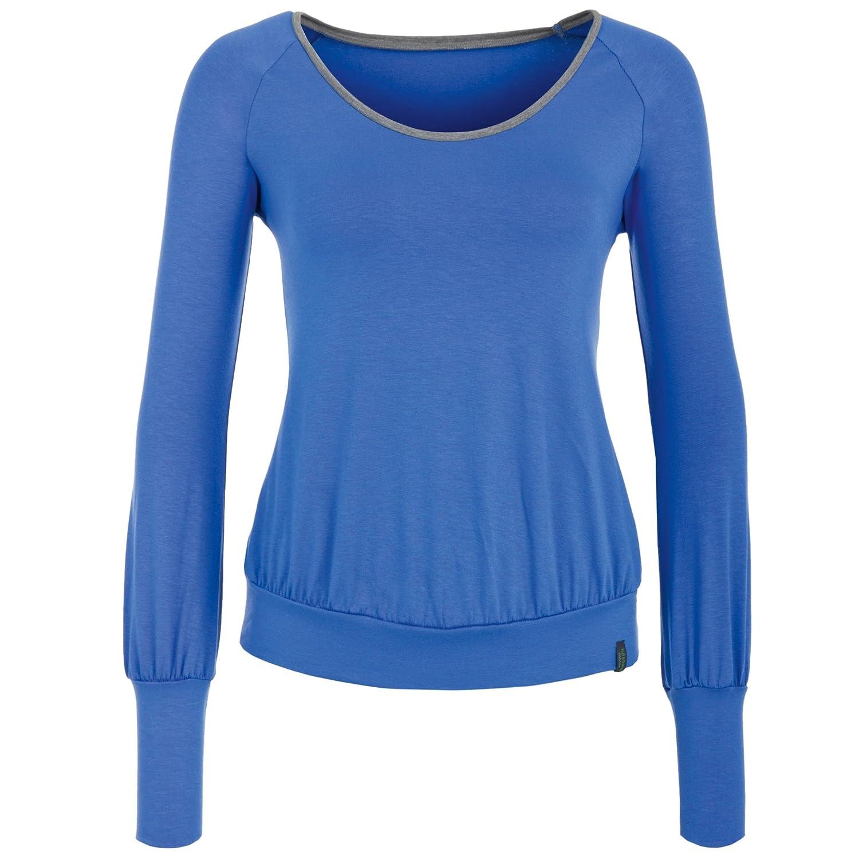 Hut & berg balance Yoga Langarm Shirt/Oberteil blau/grau, SITA LONGSLEEVE