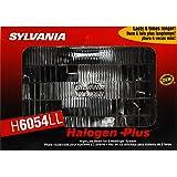 SYLVANIA H6054 Long Life Halogen Sealed Beam Headlight 142x200, (Contains 1 Bulb)