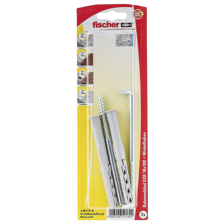 Fischer DUOPOWER 10x50 WH mit Winkelhaken 535220