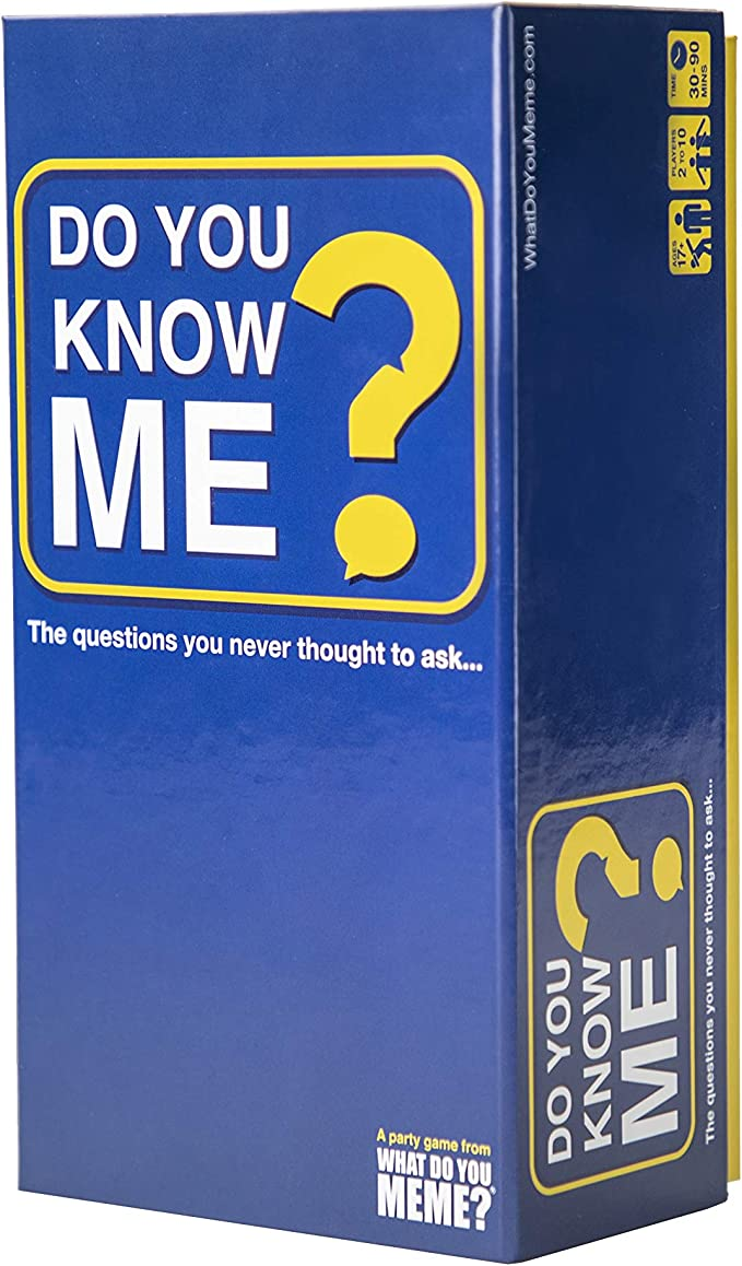 Amazon.com: Do You Know Me? - The Adult Party Game That Puts You and Your Friends in The Hot Seat - by What Do You Meme?: Toys & Games