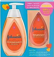 Baby Sabonete Líquido deGlicerina + Refil 50% Desc, Johnson's Baby, 400 ml, pacote de 2