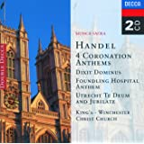 Handel: 4 Coronation Anthems/Dixit Dominus etc. (2 CDs)
