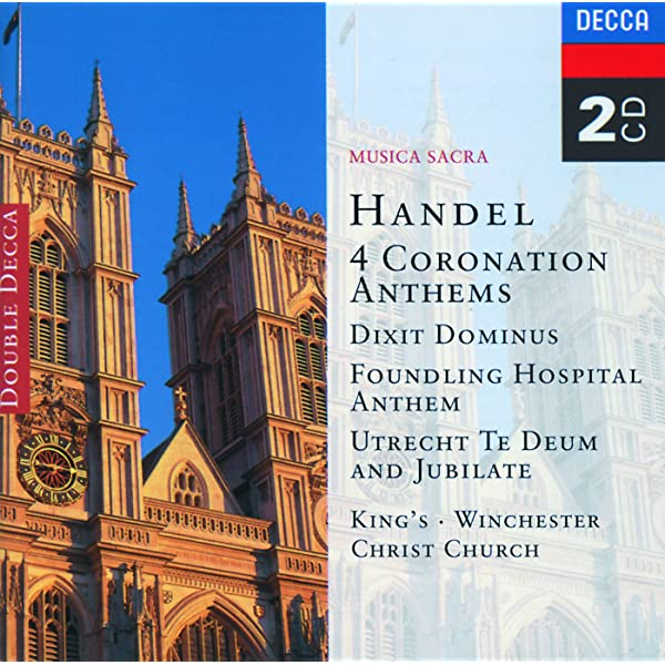 Handel: 4 Coronation Anthems/Dixit Dominus etc. de The Choir of Kings College, Cambridge & Choir Of Winchester Cathedral & Choir of Christ Church Cathedral, Oxford en Amazon Music - Amazon.es