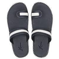 Kraasa Men's Leather Slippers