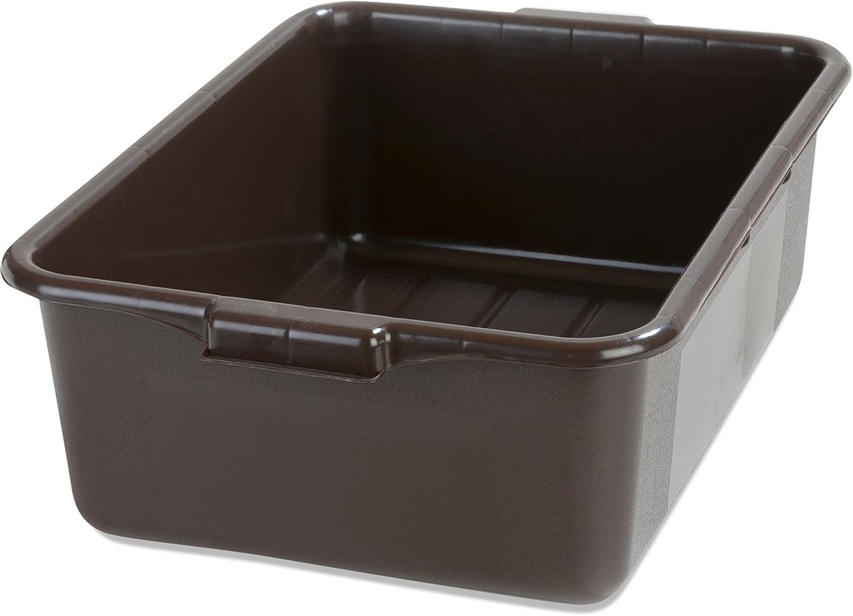 Green Pack of 12 Carlisle N4401009 Comfort Curve Ergonomic Wash Basin Tote Box 5 Deep