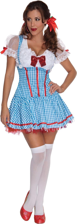 Disfraz de Dorothy sexy para mujer: Amazon.es: Juguetes y juegos
