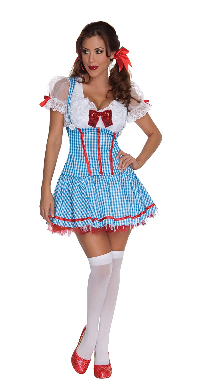 Amazon.com Secret Wishes The Wizard Of Oz Sexy Dorothy Costume Clothing  sc 1 st  Amazon.com & Amazon.com: Secret Wishes The Wizard Of Oz Sexy Dorothy Costume ...