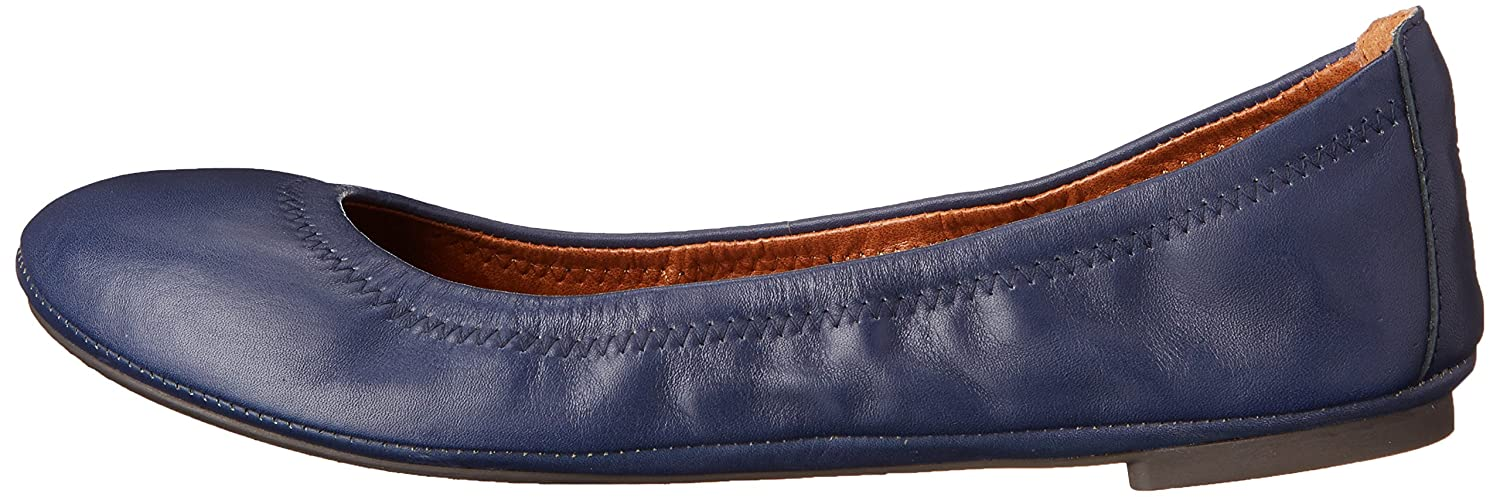 Lucky Brand Women's Lucky Emmie Ballet US|American Flat B005CGONKK 10 B(M) US|American Ballet Navy/Leather 3c9974