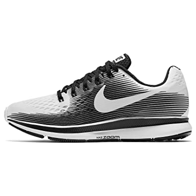 Amazon.com | NIKE WMNS Air Zoom Pegasus 34 LE 883269-100 White/Black Womens Running Shoes (7) | Road Running