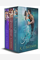 Secrets & Spies Box Set: Includes To Steal A Heart, A Raven's Heart, and A Counterfeit Heart. Kindle Edition