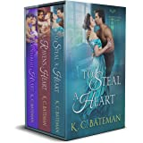 Secrets & Spies Box Set: Includes To Steal A Heart, A Raven's Heart, and A Counterfeit Heart.