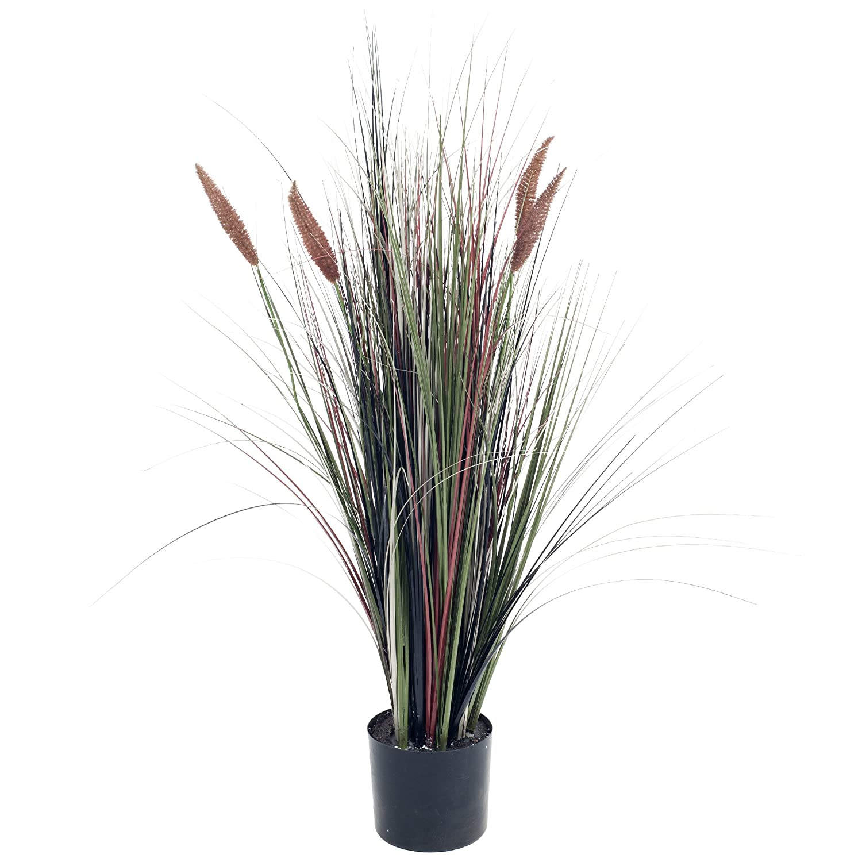 Pure Garden Ornamental人工Tall Cattail Grass、4 ' B011EEBH8Y