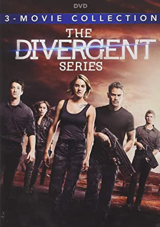 amazon com the divergent series 3 film collection dvd shailene