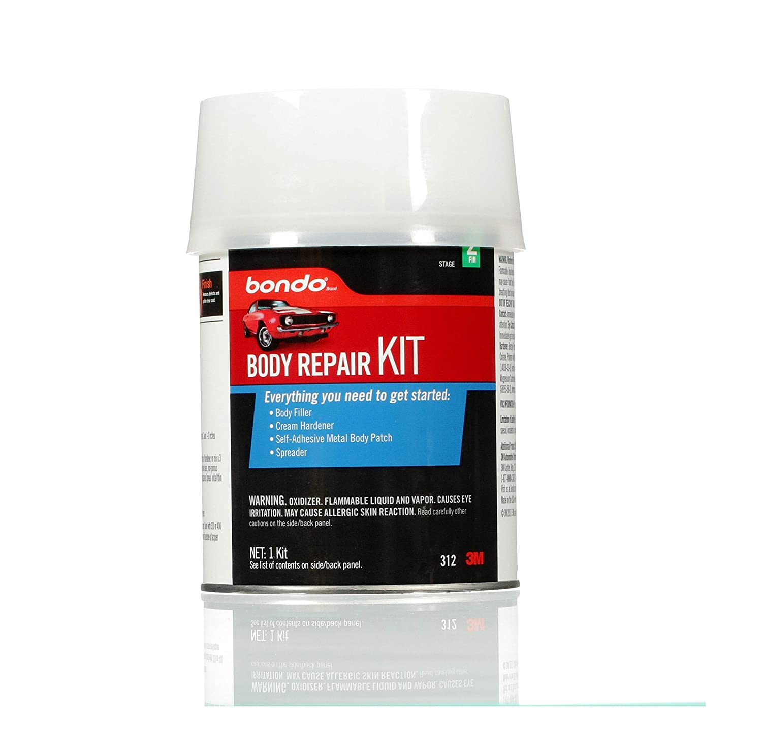 Bondo Body Repair Kit, 00312
