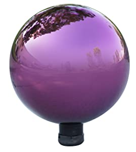 Alpine GLB292PL Electric Glass Gazing Globe, Purple